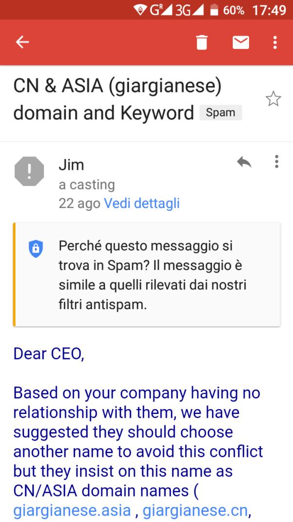 e-mail giargianese