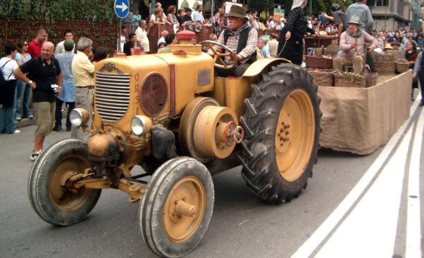 il trattore del giargiana